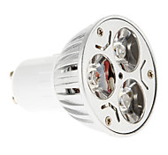 6W GU10 LED Spot Lampen 3 15-20/30-35 lm Rot / Blau AC 85-265 V 1 Stück