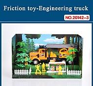 Hight auto giocattolo di qualità per i bambini del camion attrito impostato con strumenti il tema antincendio 20142-3