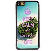 Keep Calm Design  Aluminum Case for iPhone 5C