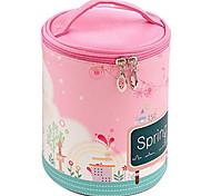 Korean Large Capacity Two-piece Cosmetic Bag