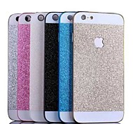 alta qualidade de alumínio brilhante luxo metal caso tampa traseira para o iphone 6 mais (cores sortidas)