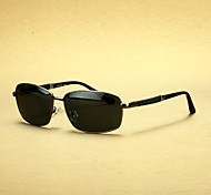 Polarized Men's Rectangle Alloy Fashion Sunglasses