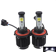 CONQUER® 2PCS  20W 2000Lumens  H13 High Power High Brightness Cree LED Headlight for Car
