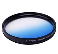 TIANYA 49mm Circular Graduated Blue Filter for Sony A7R NEX-7 NEX5N NEX-5C NEX-C3 E18-55mm Lens