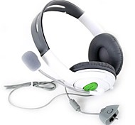 White High Quality Speakers Surround Gaming Headset Stereo Headphone Earphone With Micphone for XBOX 360 Mic for x360