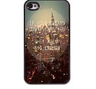 Your Dream Design Aluminum Case for iPhone 4/4S
