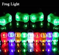 FJQXZ Waterproof Rubber Cycling Frog Tail Light