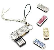Amotaios AMO-UZ069(32G) 32GB USB 2.0 Flash Pen Drive Keychain/Crystal