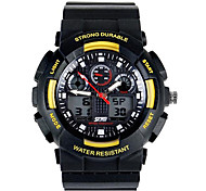 Skmei® Men Fashion Climbing Dual Time Zone Multifunction Wrist Watch 30m Waterproof Assorted Colors