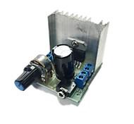 canal duplo at102 módulo placa amplificador de potência tda7297 silencioso