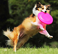 Soft Frisbee Bite Resistant Pet Silicone Disc for Pets Dogs Cats