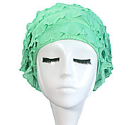 Sanqi Women's Fashional Cute Style Waterproof Anti-Slip Ear & Hair Protection Swimming Cap