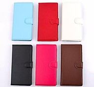 Lichee Pattern PU Leather Full Body Cases with Photo Frame for Nokia Lumia 520(Assorted Colors)