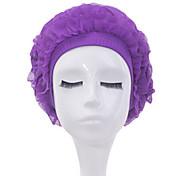 Sanqi Women's Fashional Waterproof Ear Protection Swimming Cap