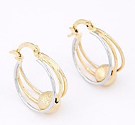 Sweet Temperament Concise Fashion Earrings