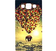 Samsung Handy - Samsung Galaxy A5 - Rückseitige Hülle - Grafik/Cartoon/Spezielles Design ( Multi-color , TPU )