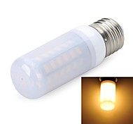 E27 Frosted 8W 800LM 6500K/3000K 48-5730 SMD Warm/Cool White Light LED Corn Bulb (AC 220~240V)
