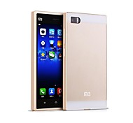 HHMM Aluminum Frame PC Back Cover Mobile Phone Covers Protective Cases For Xiaomi Mi3 (Assorted Colors)