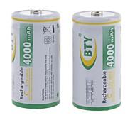 Batteria - Ni-MH - BTY - C - 4000mAh - ( mAh )