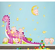 Funny Dinosaur Baby Wall Stickers