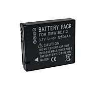 1250mAh DMW-BCJ13 Full Decoded  Camcorder Battery for Panasonic Lumix DMC-LX5 DMC-LX5K Leica BP-DC10 BPDC10-U