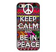 Ruhe bewahren und sich in Friedensentwurf harter Fall für iphone 4 / 4s