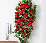 Silk Roses Artificial Flowers