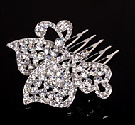 Women/Flower Girl Alloy Hair Combs With Rhinestone Wedding/Party Headpiece