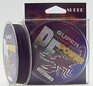 100M / 110 Yards PE Braided Line / Dyneema / Superline Fishing Line Black 40LB / 45LB / 30LB / 50LB 0.26mm,0.29mm,0.30mm,0.32mm mm ForSea