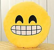 13 Inch Emoji Smiley Emoticon Yellow Round Cushion Pillow Stuffed Plush Soft Toy