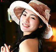 UV Sunscreen Folding Flower Visor Floppy Hat