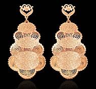 Pendientes colgantesJoyas 2 piezas Dorado Chapado en Oro Boda / Fiesta