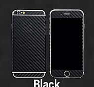 Full-length Anti-Radiation Carbon Fibre Body Sticker for iPhone 6(Assorted Colors)