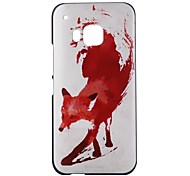 The Fox Pattern PC Hard Back Case for HTC One M9