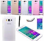 karzea ™ 0,05 millimetri ultrasottile tpu fondello trasparente caso con la protezione dello schermo + stilo per Samsung Galaxy a5 (colori assortiti)