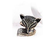 European Style Enchanting Cute Little Fox Ring