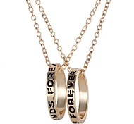 2015 Best Friends Loops Are Short Necklace