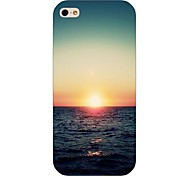 Setting Sun Pattern Back Case for iPhone5/5S
