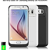 4200mAh External Portable Backup Battery Case for Samsung Galaxy S6 (Assorted Colors)
