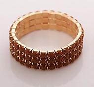 Women's Set Auger Rhinestone Fashion Bracelets Birthday Gift