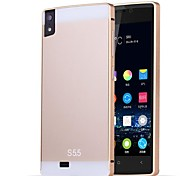 HHMM Aluminum Frame PC Back Cover Mobile Phone Covers Protective Cases For ELIFE S5.5 GN9000(Assorted Colors)