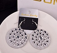 2015 Spotted Multi-Level Frosted Earrings