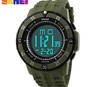 Relógio Esportivo (LCD/Calendário/Cronógrafo/Resistente à Água/alarme) - Digital - Quartz