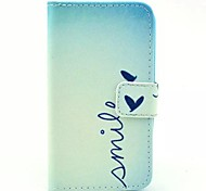 Smile Pattern PU Leather Full Body Case  for HUAWEI Y330