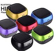 y-6 bluetooth inalámbrico de discos activo portátil USB mini altavoz&altavoz del jugador de tarjeta tf (colores surtidos)