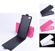 PU Leather  Protective Case With Holder Stand for BlackBerry Z3(Assorted Colors)