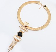 Tina -- Korean Punk Personality Alloy Necklace in Party