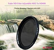 tianya® 40.5mm atenuador filtro ND ND2 a ND400 regulable filtro de densidad neutra para Sony a6000 a5100 nex-5t nex5r 16-50mm