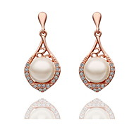Women's  Imitation Pearl Studing Earrings