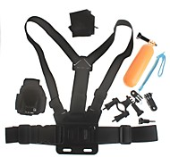 fotocamera digitale kit sport all'aria aperta per GoPro eroe 4/3 + / 3/2/1 / sj4000 / sj5000 / sj6000 gp321 1 4-in-